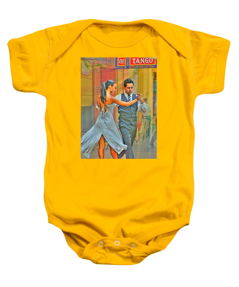 Tango Baby Onesie featuring the photograph Too Tango by Francisco Colon