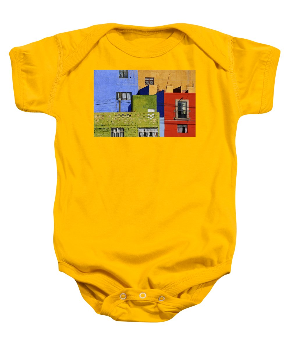 Skip Hunt Baby Onesie featuring the photograph Toy Box by Skip Hunt