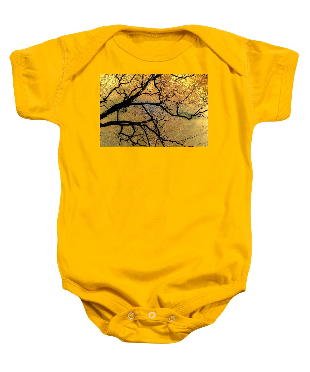 Scenic Baby Onesie featuring the photograph Tree Fantasy 7 by Lee Santa