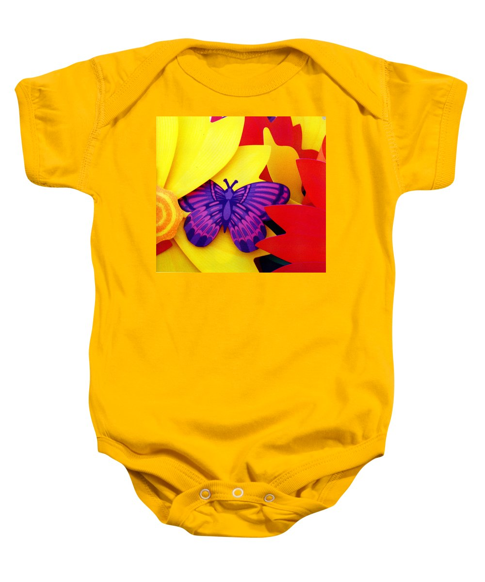 Toy Baby Onesie featuring the photograph Unreal by Wayne Potrafka