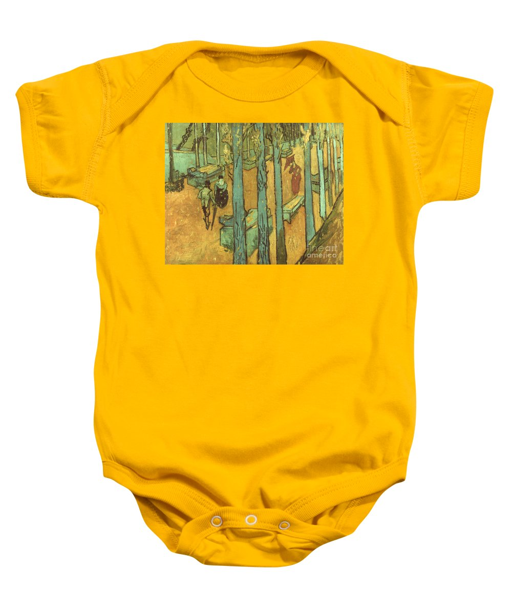 1888 Baby Onesie featuring the photograph Van Gogh: Alyscamps, 1888 by Granger