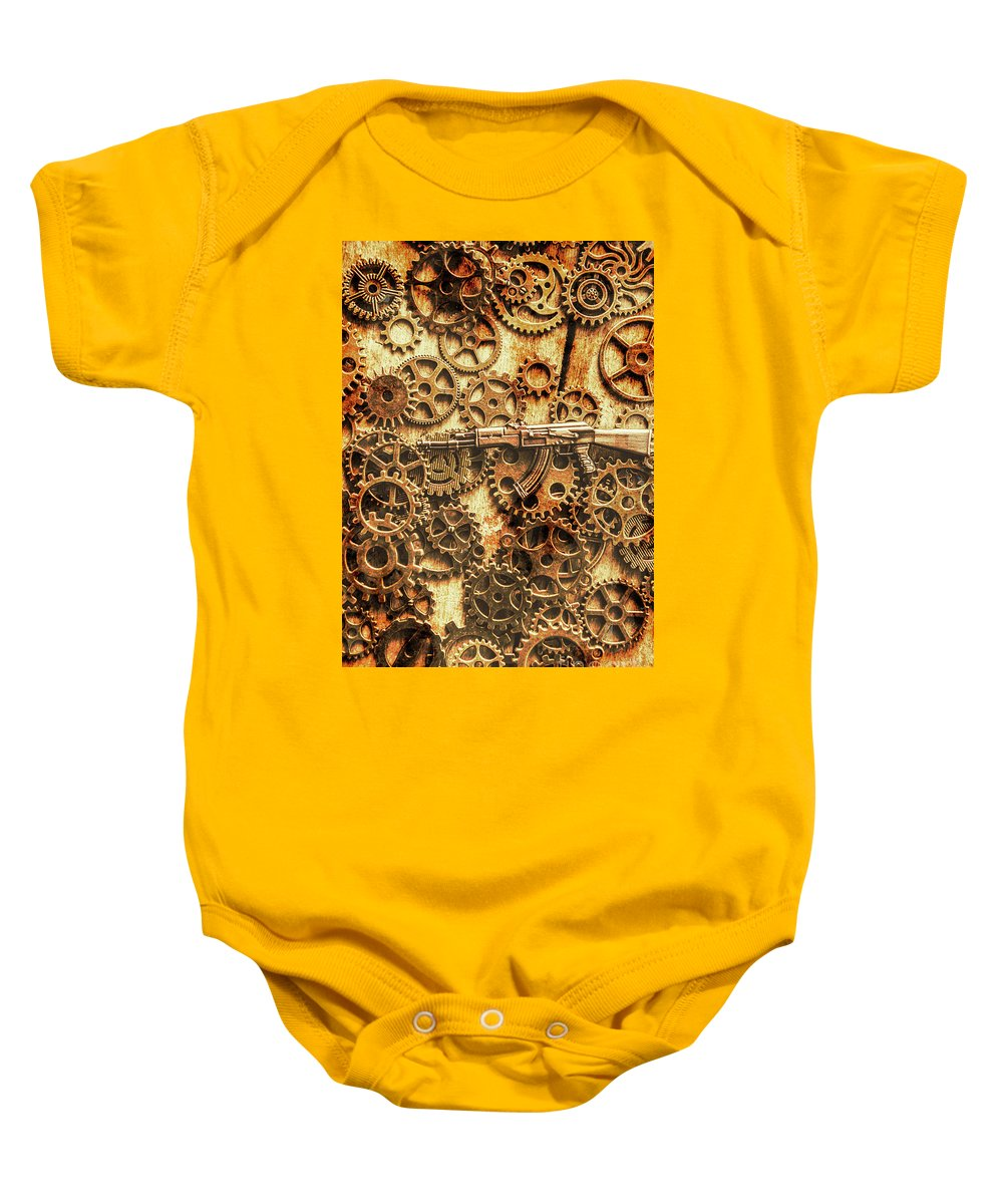 Vintage Ak-47 Artwork Onesie for Sale by Jorgo Photography - Wall ...