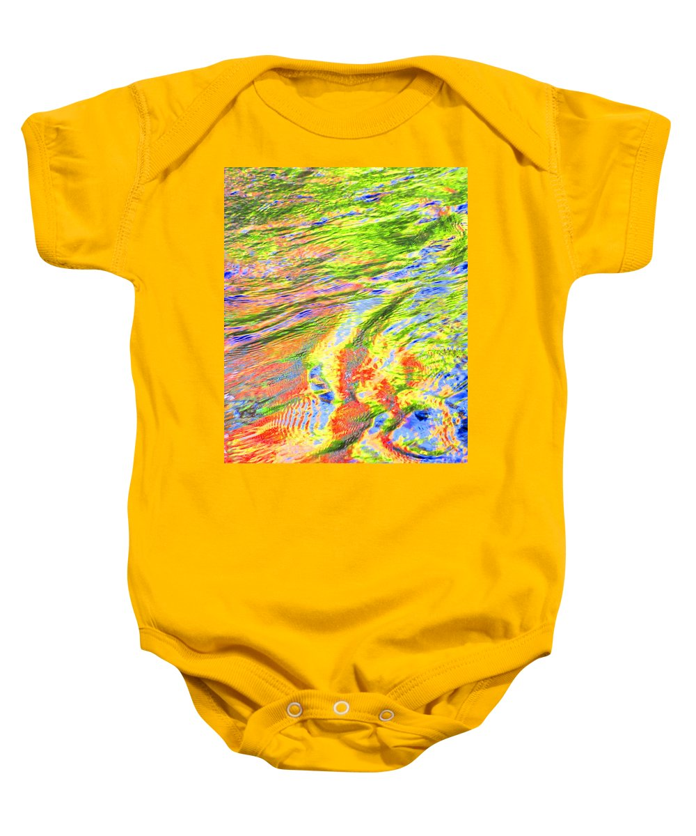 Abstract Baby Onesie featuring the photograph Walk In Glory by Sybil Staples