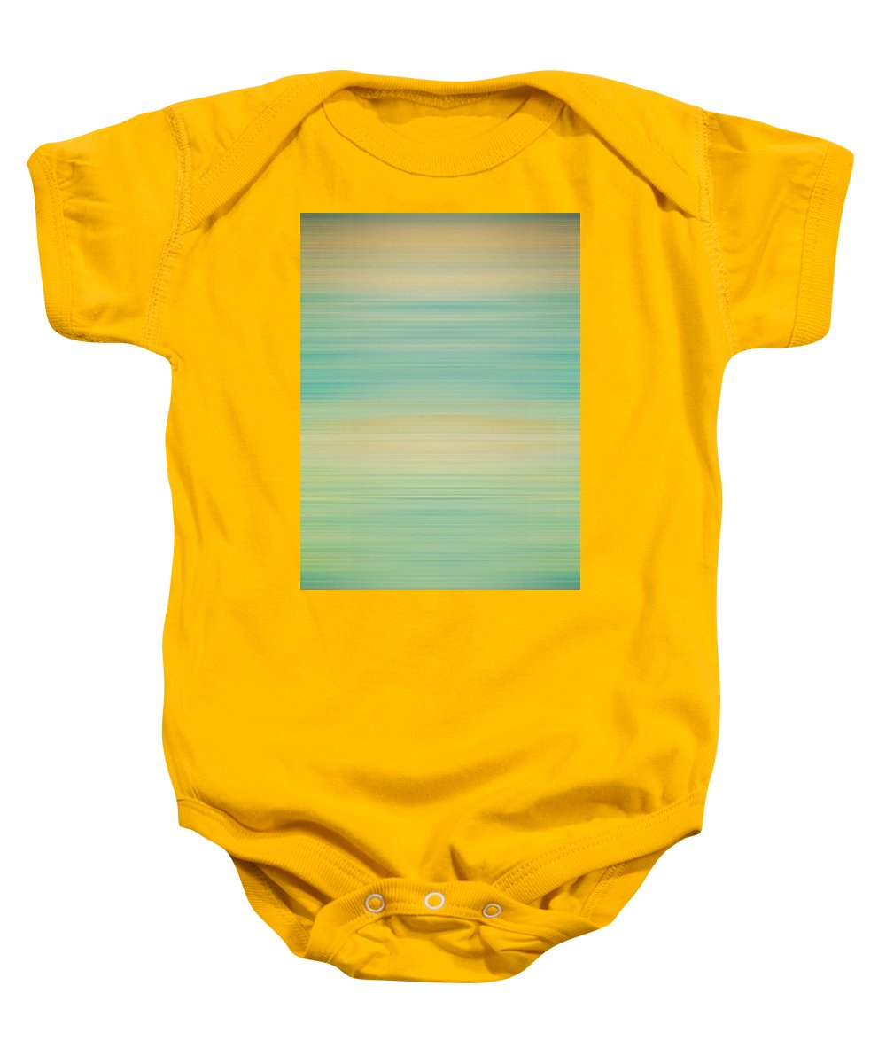 Motion Blur Baby Onesie featuring the photograph Wall Texture Abstract by Pam Elliott