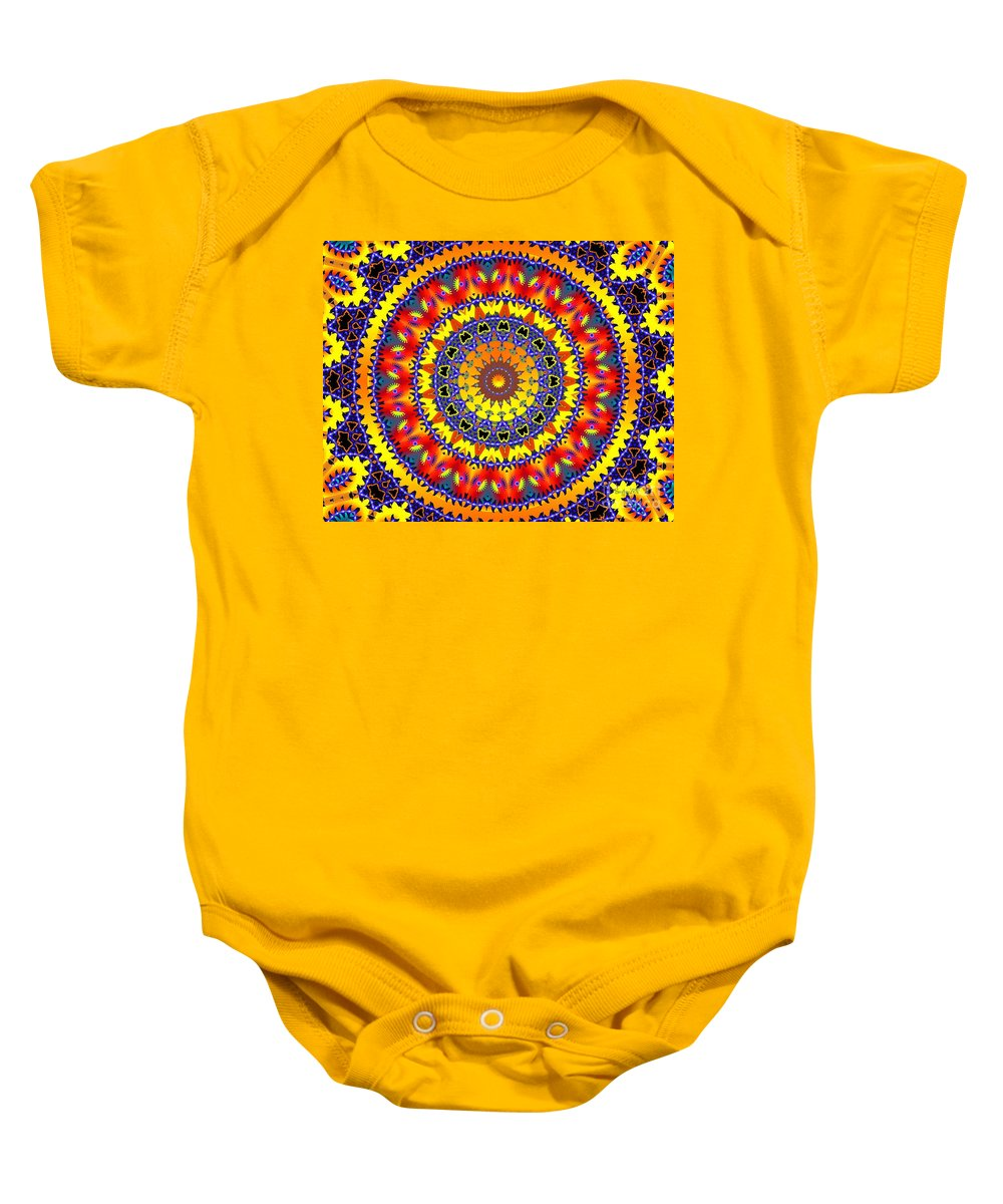 Wheel Baby Onesie featuring the digital art Welcome Home by Robert Orinski