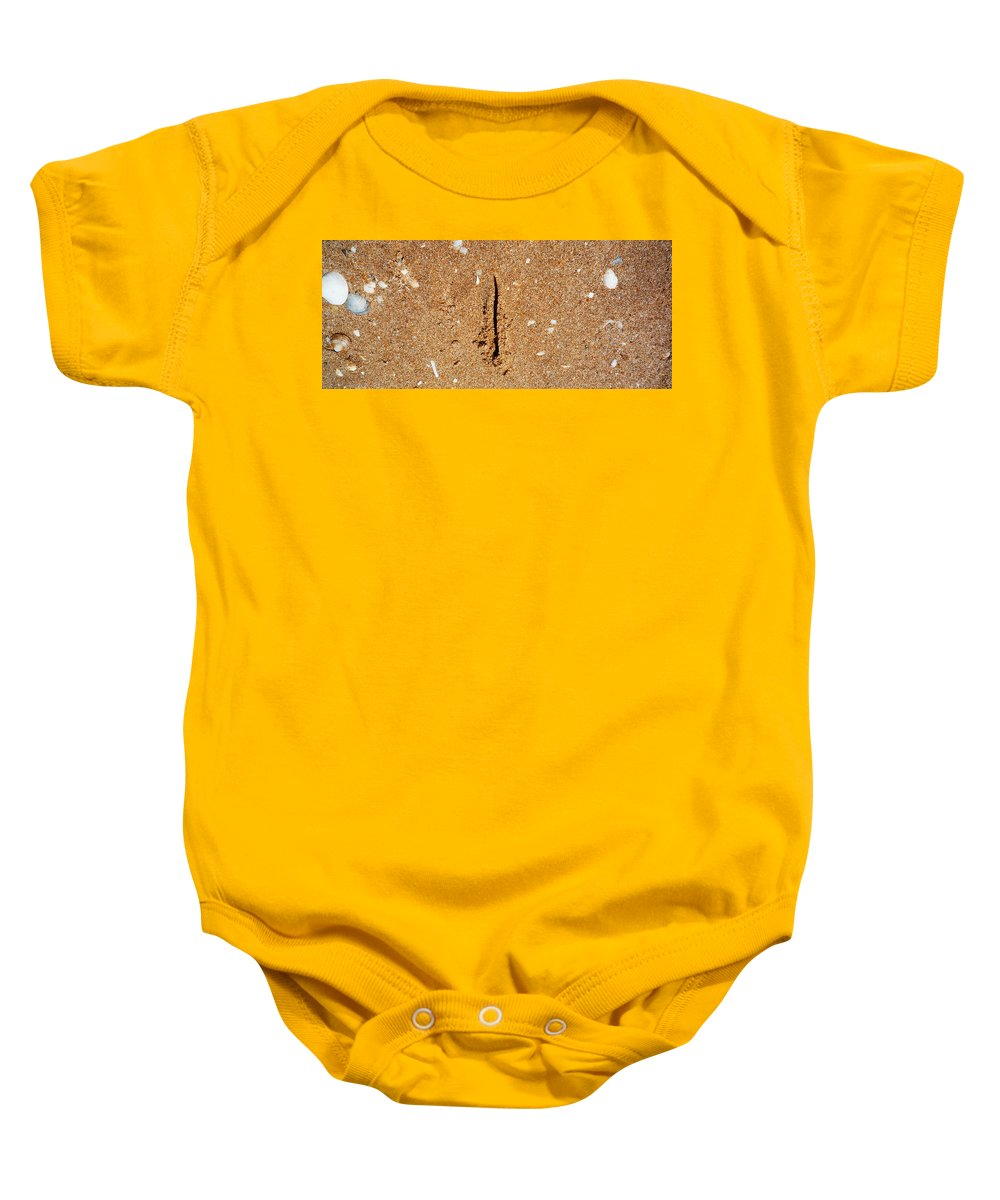 Erotic Baby Onesie featuring the photograph Wish You Were Here by Charles Stuart