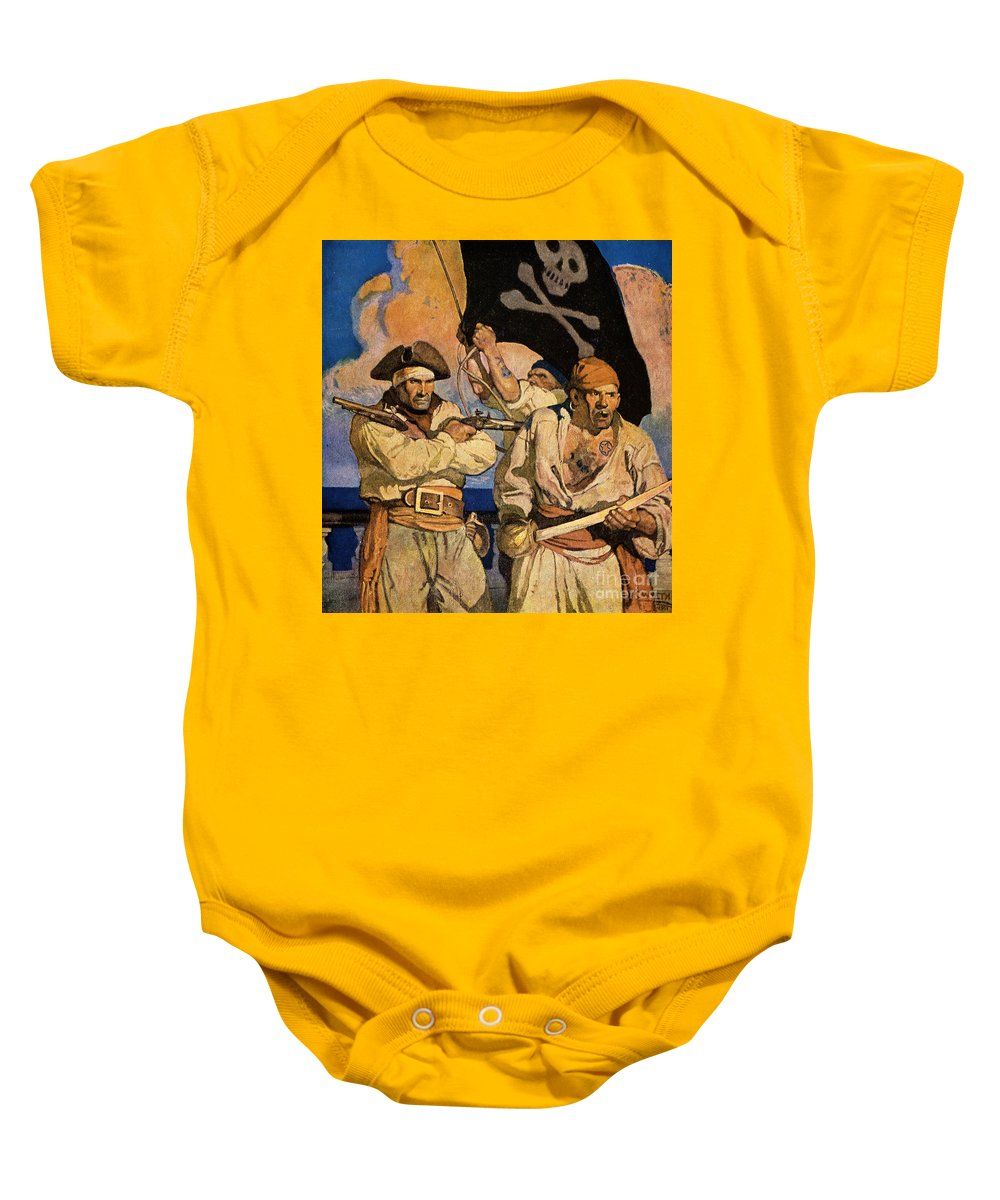 18th Century Baby Onesie featuring the photograph Wyeth: Treasure Island by Granger