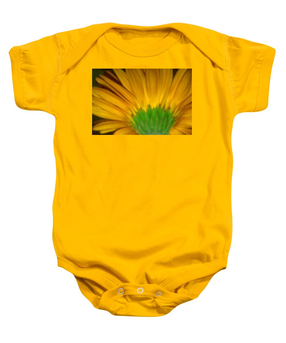 Baby Onesie featuring the photograph Yellow by Andre Giovina