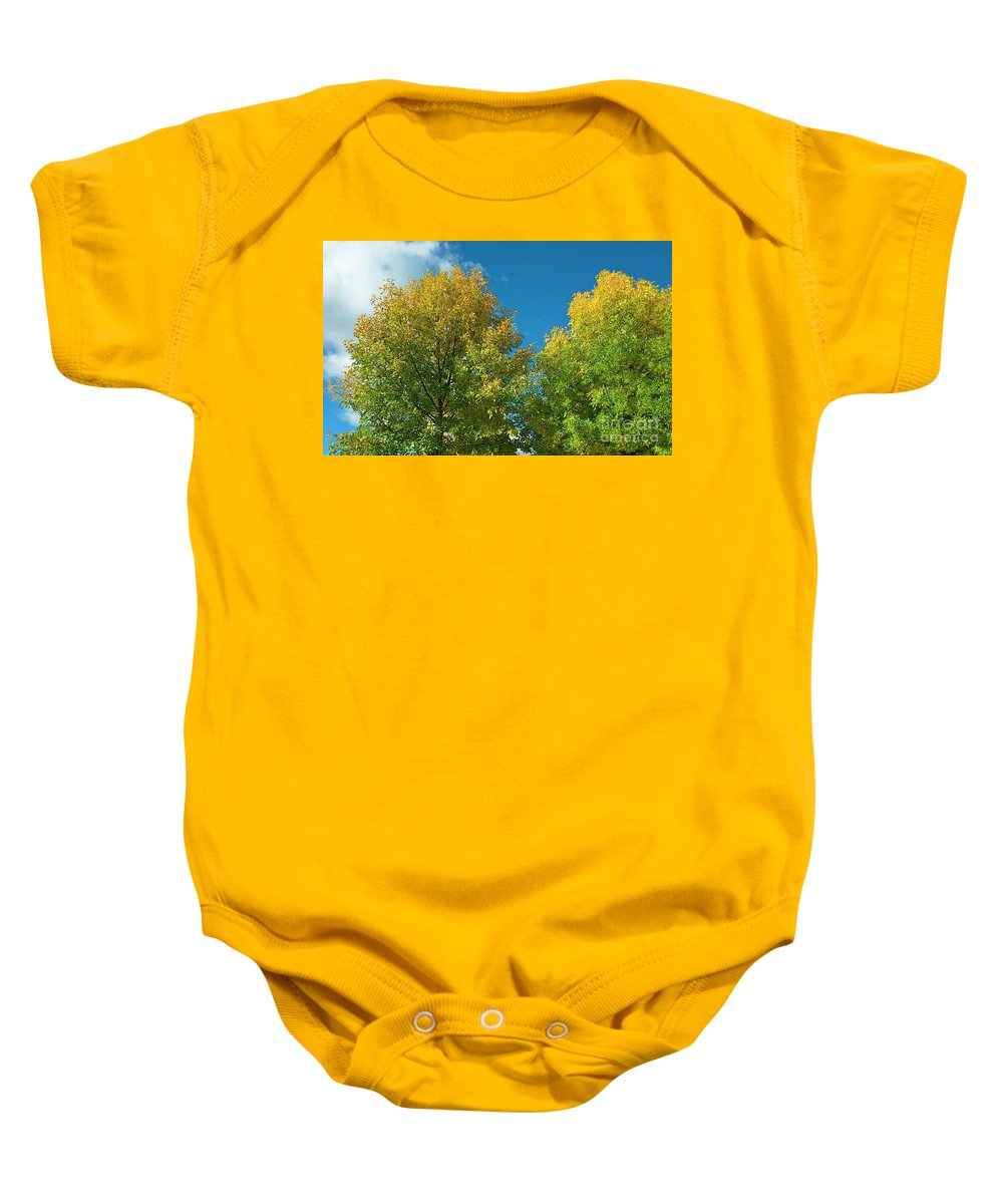 Tree Baby Onesie featuring the photograph Fraxinus Excelsior by Esko Lindell