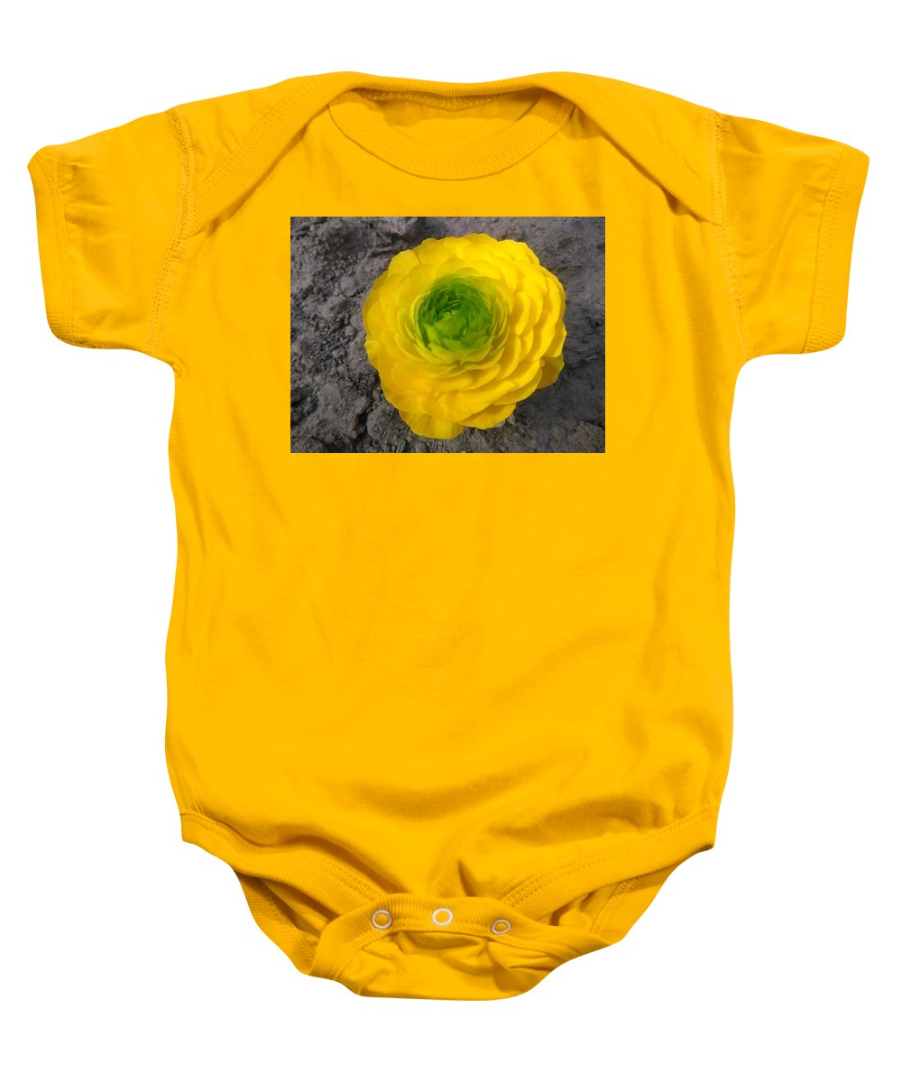 Baby Onesie featuring the photograph Himalayan Flower by Nimu Bajaj and Seema Devjani