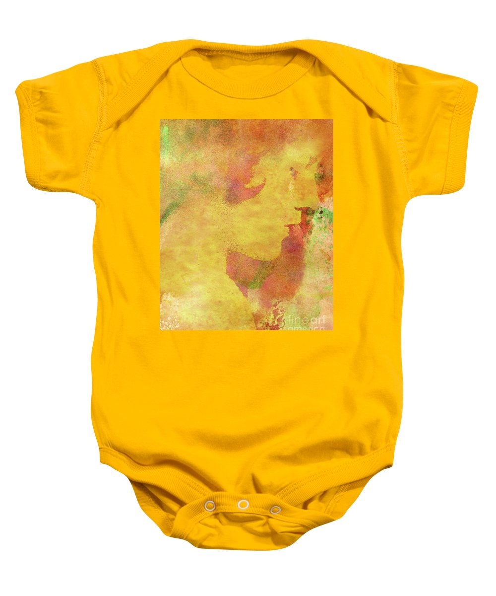 Shades Of You Baby Onesie featuring the digital art Shades of You by Kenneth Rougeau