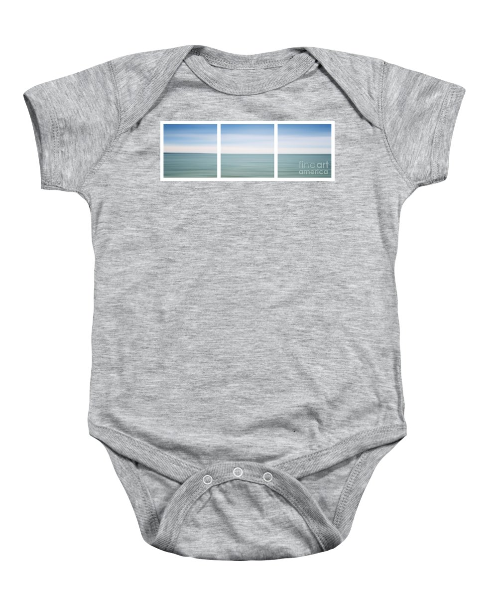 Ocean Baby Onesie featuring the photograph Fishers Island Sound by Sabine Jacobs