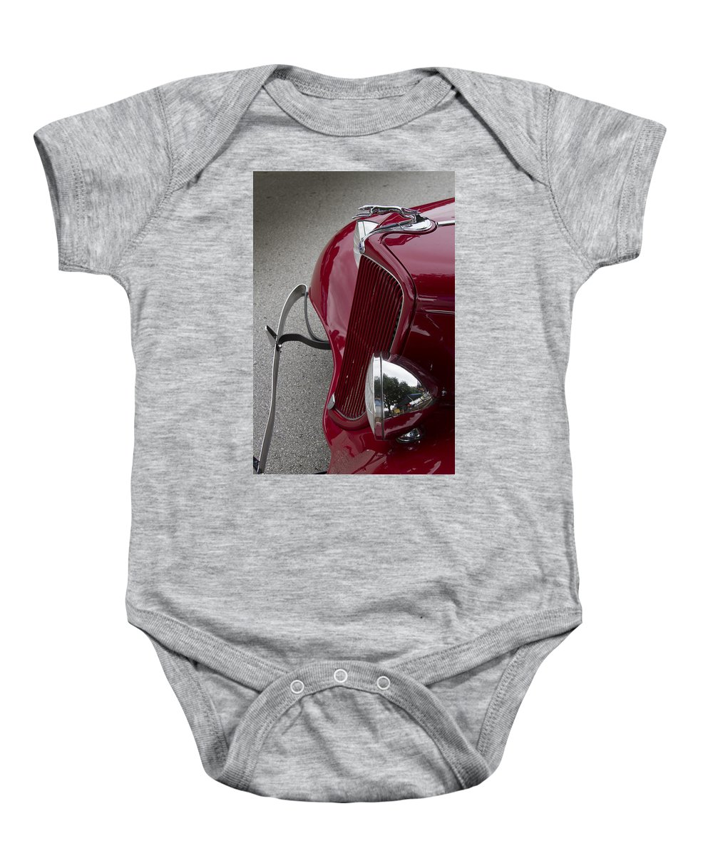 American Baby Onesie featuring the photograph Front End by Jack R Perry