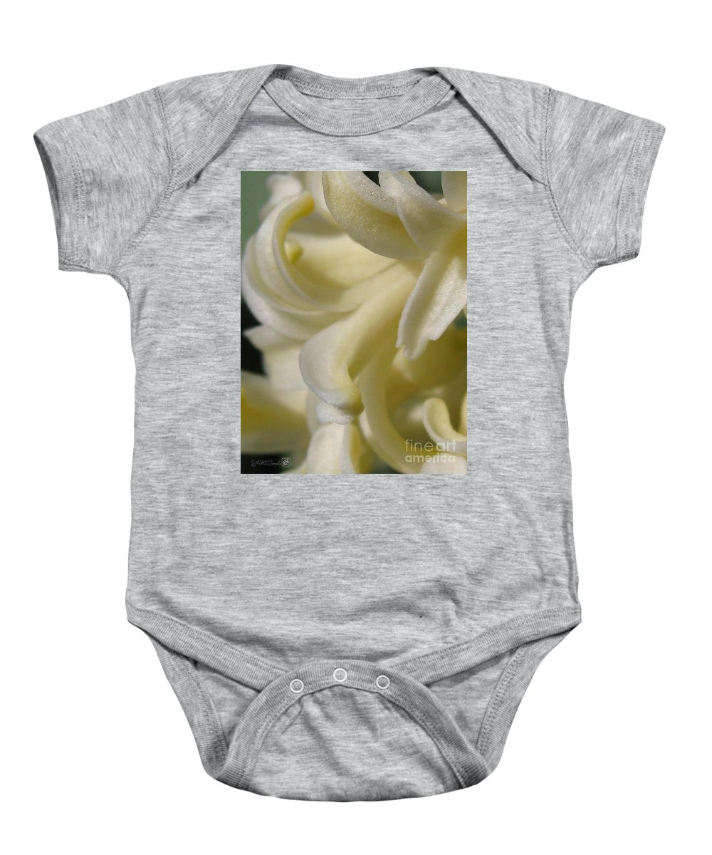 Mccombie Baby Onesie featuring the photograph Hyacinth Named City Of Haarlem by J McCombie