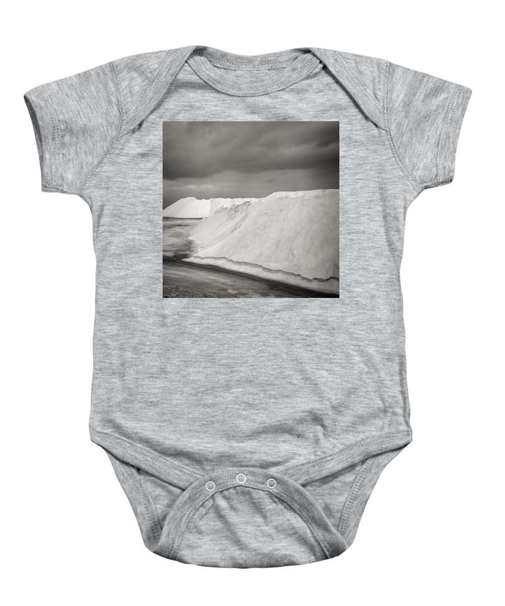 Las Coloradas Baby Onesie featuring the photograph Las Coloradas Salt Flat by For Ninety One Days
