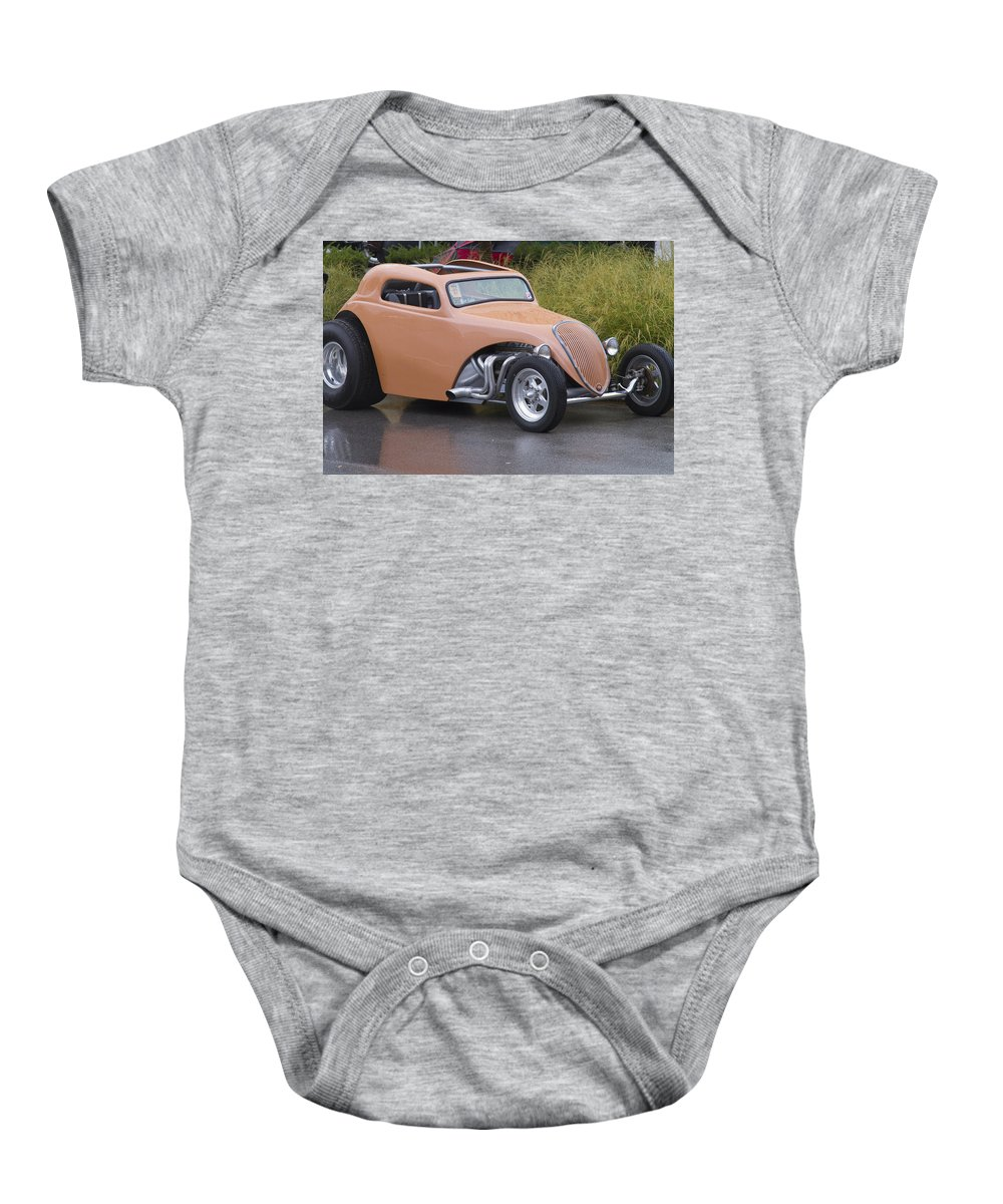 American Baby Onesie featuring the photograph Little Peach by Jack R Perry