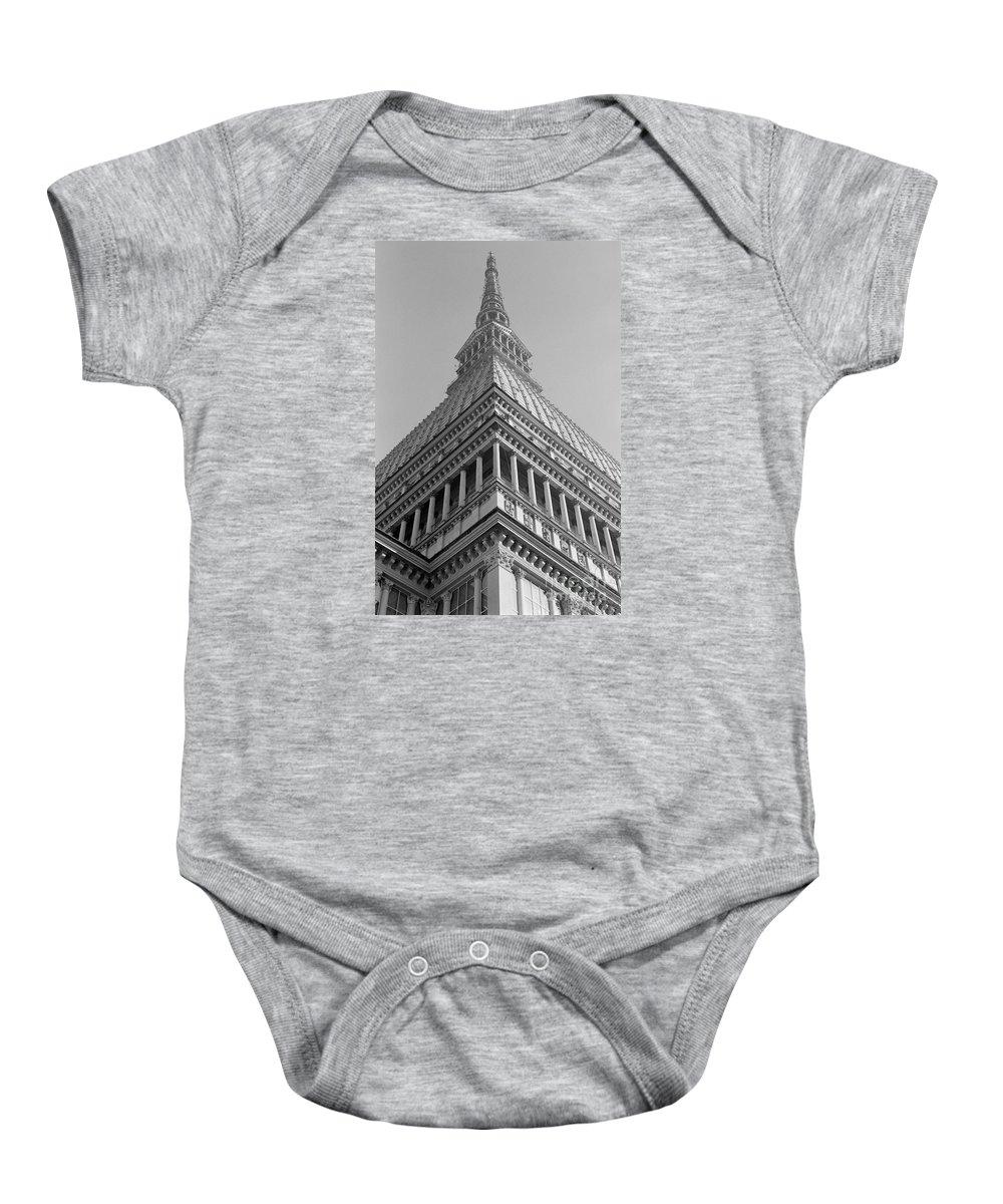 Turin Baby Onesie featuring the photograph Mole Antonelliana by Riccardo Mottola