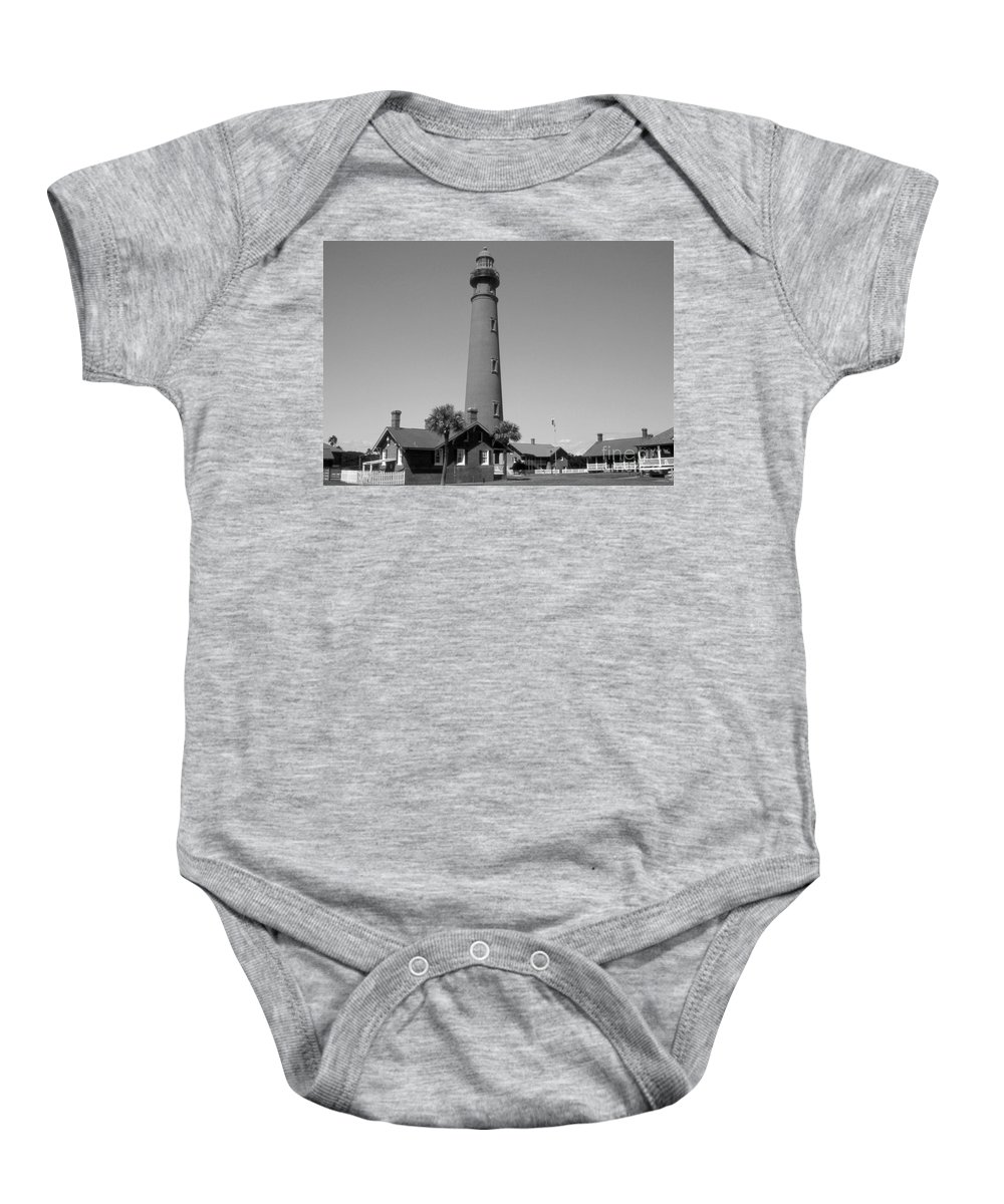 Lighthouses Baby Onesie featuring the photograph Ponce De Leon Lighthouse by Skip Willits