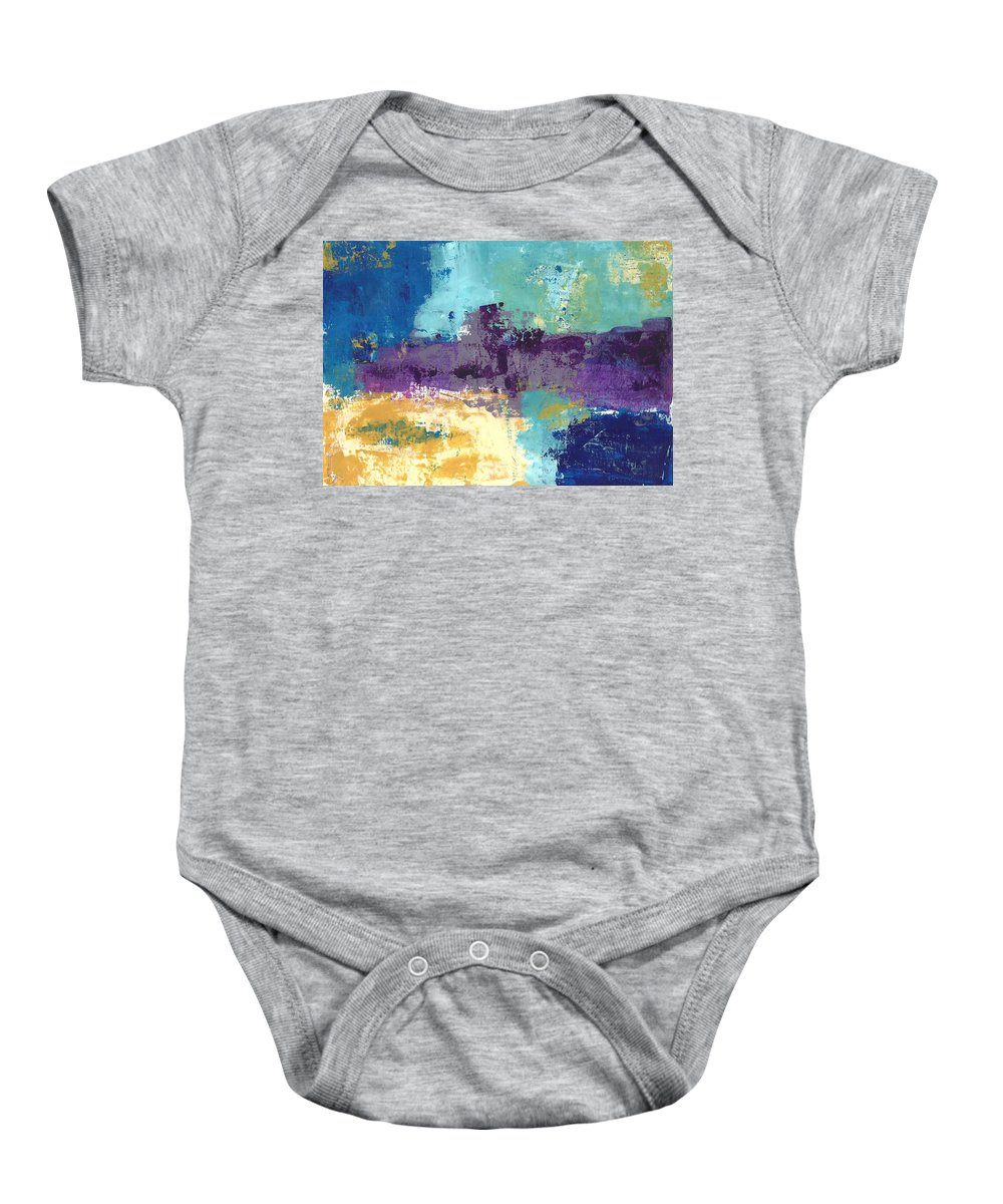 Art Baby Onesie featuring the painting Untitled by William Hartill