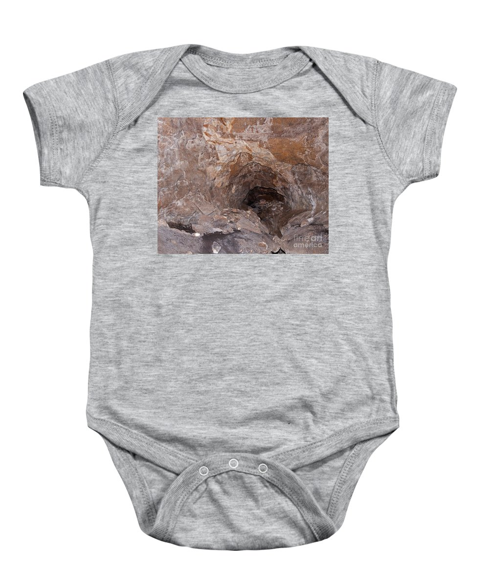 Autumn Baby Onesie featuring the photograph Jewel Cave Jewel Cave National Monument by Fred Stearns