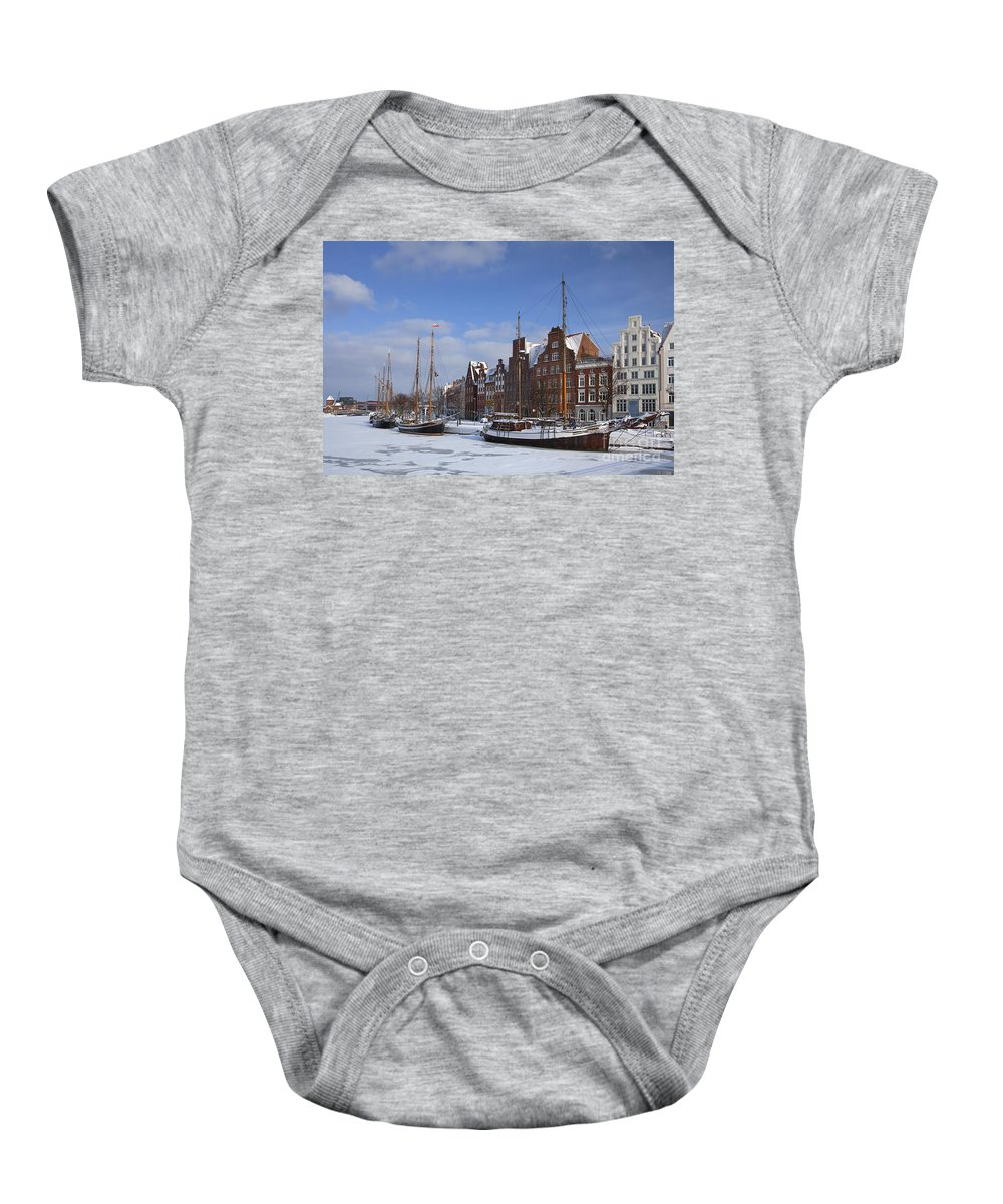 Sailing Ship Baby Onesie featuring the photograph 120206p263 by Arterra Picture Library