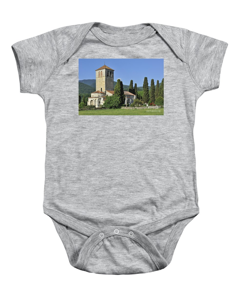 Basilica Baby Onesie featuring the photograph 120520p174 by Arterra Picture Library