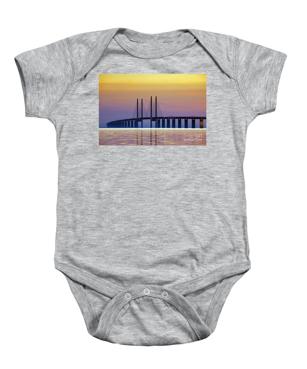 Baltic Sea Baby Onesie featuring the photograph 121213p214 by Arterra Picture Library