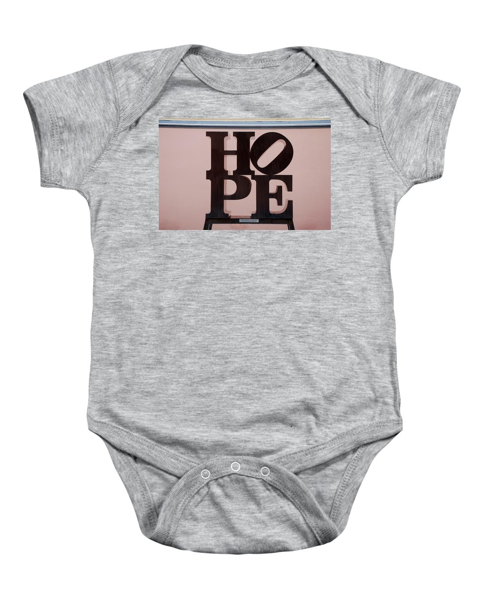 Hope Baby Onesie featuring the photograph Hope by Rob Hans