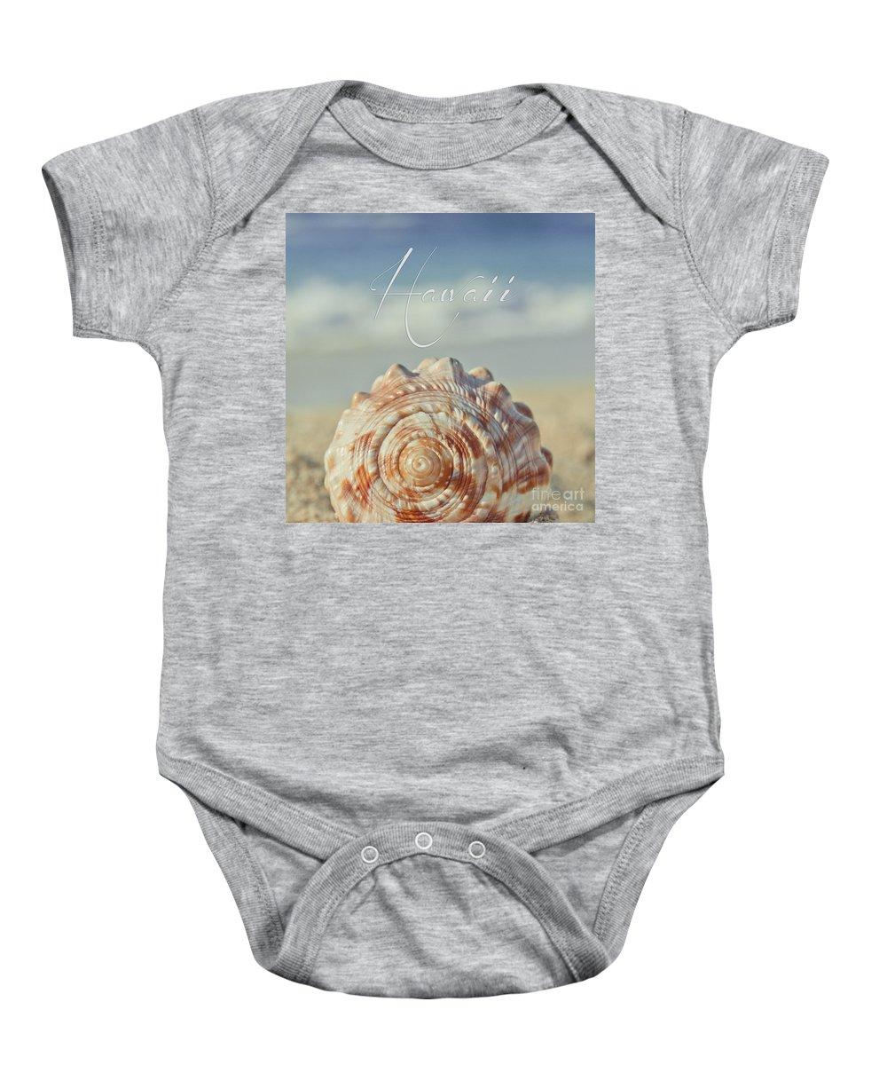 Aloha Baby Onesie featuring the photograph Kapukaulua Aia I Laila Ke Aloha Island Dreams by Sharon Mau