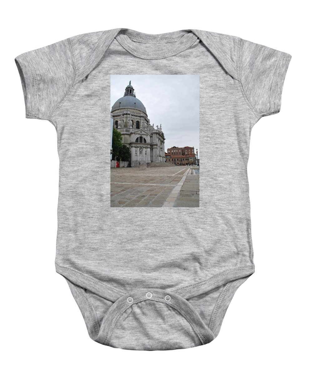 Church Baby Onesie featuring the photograph Santa Maria Della Salute by Richard Booth