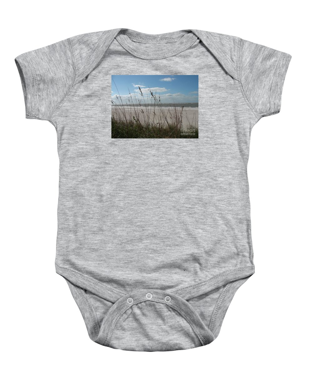 Seaside Baby Onesie featuring the photograph Seaside by Christiane Schulze Art And Photography