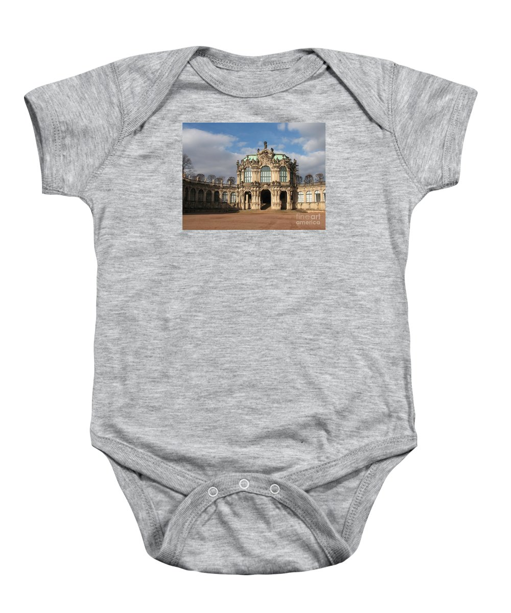 Zwinger Baby Onesie featuring the photograph Zwinger - Dresden - Germany by Christiane Schulze Art And Photography
