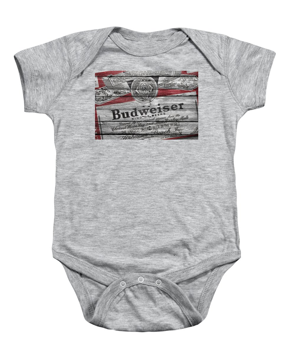 59a05f57ada46c Budweiser Onesie for Sale by Joe Hamilton
