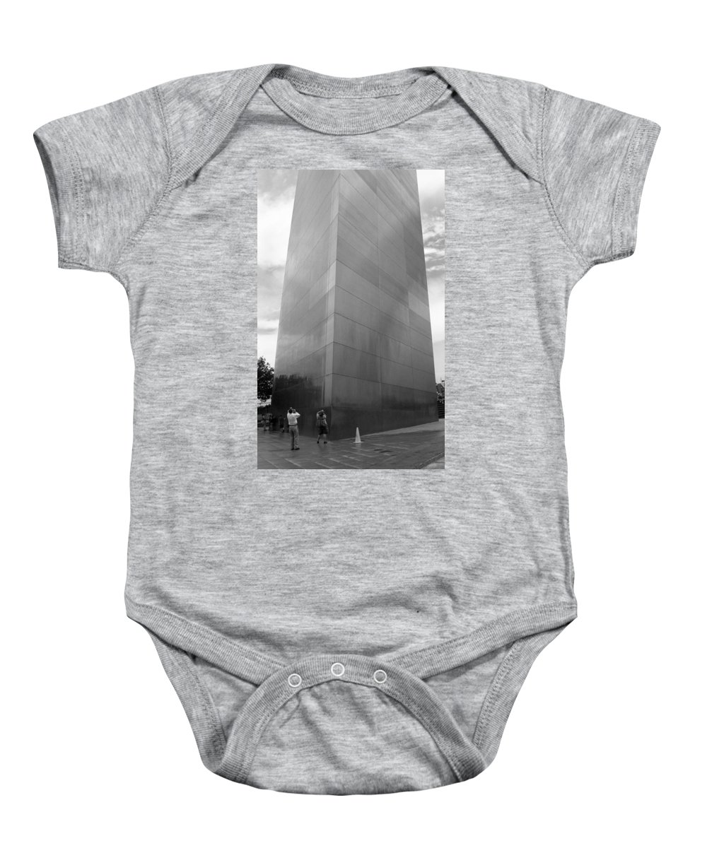 66 Baby Onesie featuring the photograph St. Louis - Gateway Arch by Frank Romeo