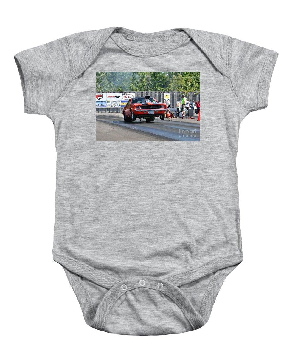 Esta Safety Park 09-07-14 Baby Onesie featuring the photograph 6432 Esta Safety Park 09-07-14 by Vicki Hopper