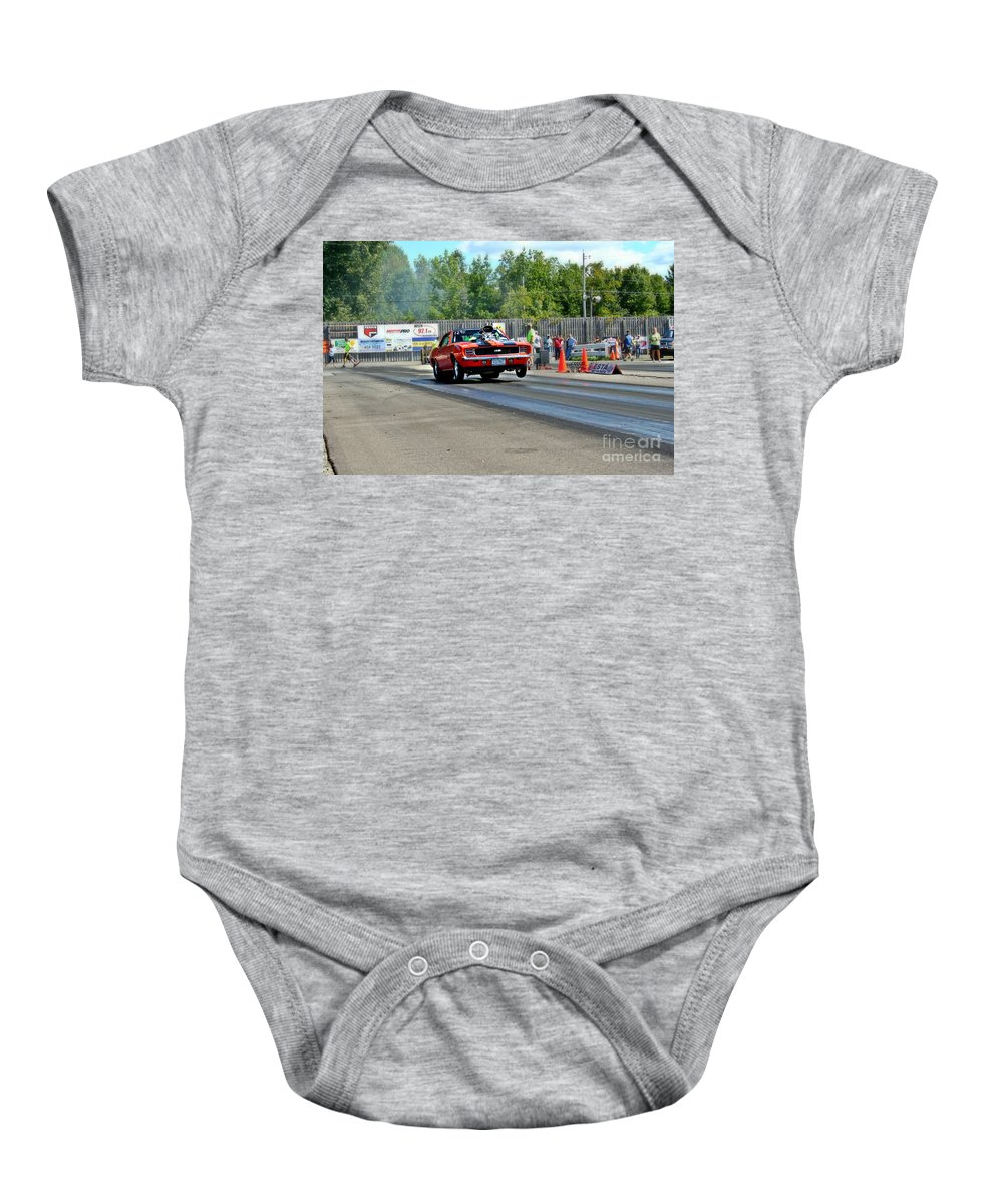 Esta Safety Park 09-07-14 Baby Onesie featuring the photograph 64331 Esta Safety Park 09-07-14 by Vicki Hopper