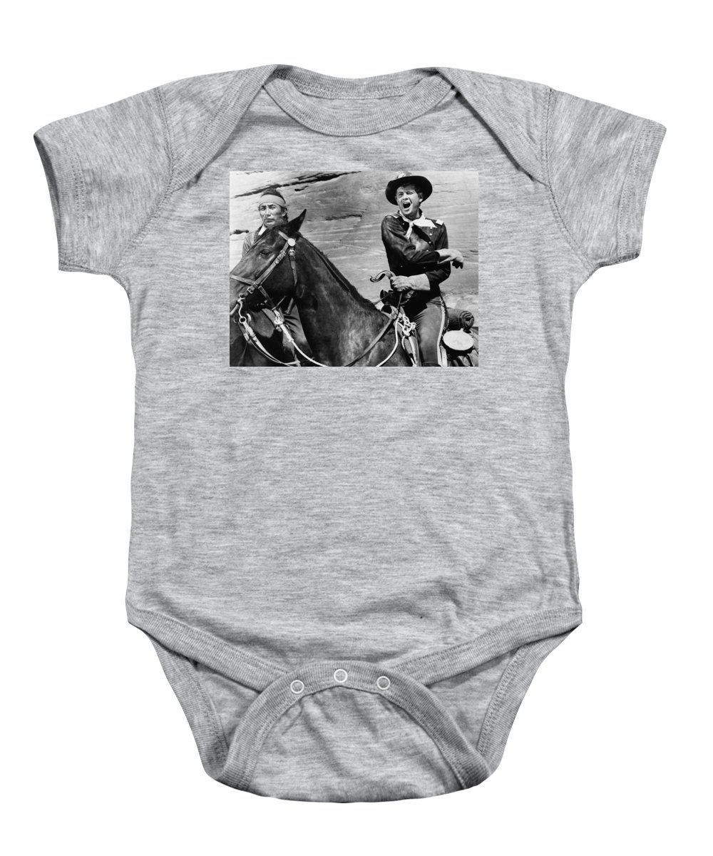A Distant Trumpet Baby Onesie featuring the photograph A Distant Trumpet 2 by Bob Bradshaw