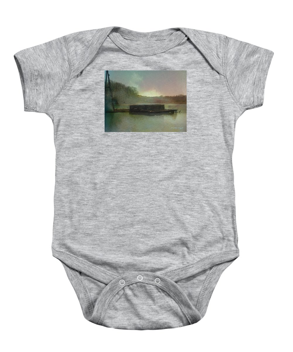 Wright Baby Onesie featuring the photograph Abandoned by Paulette B Wright