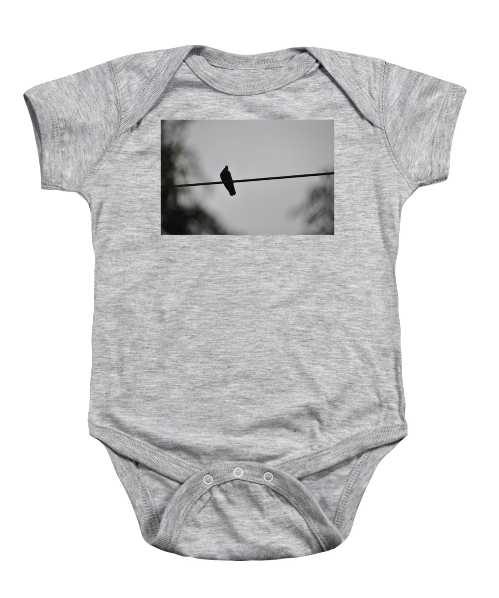 Bird Baby Onesie featuring the photograph Pride And Power by XW Xu