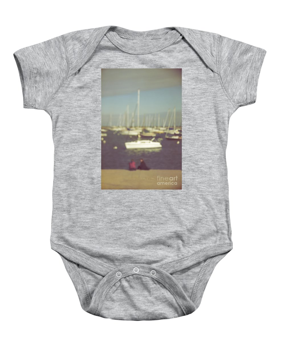 Caucasian Baby Onesie featuring the photograph Along The Bay by Margie Hurwich