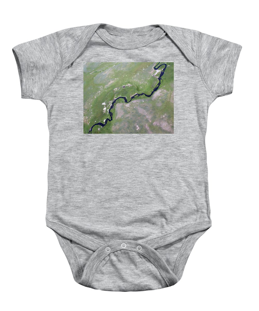 North America Baby Onesie featuring the photograph Alum Creek II by Max Waugh