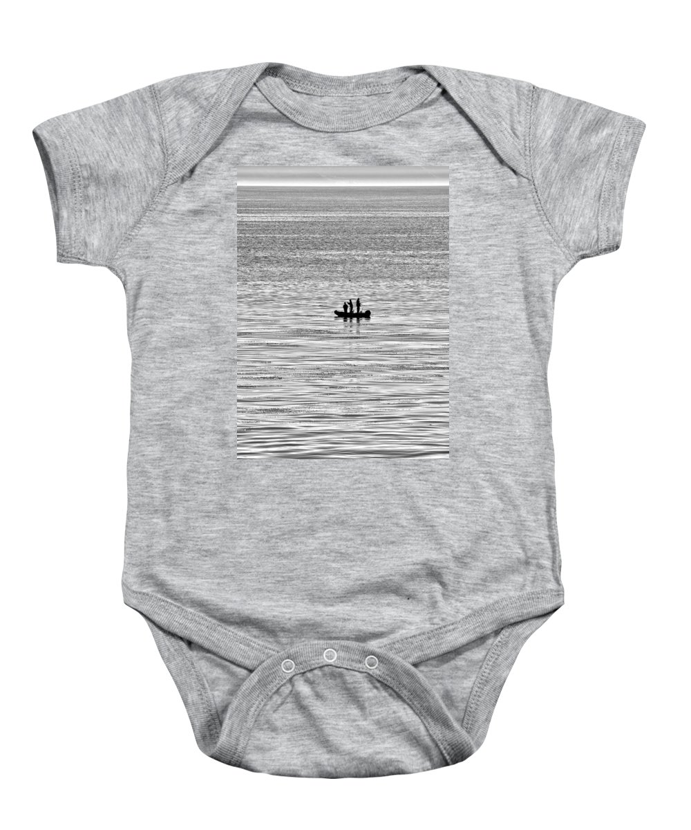 Fishing Baby Onesie featuring the photograph And You Feed Him For A Lifetime by Joe Schofield