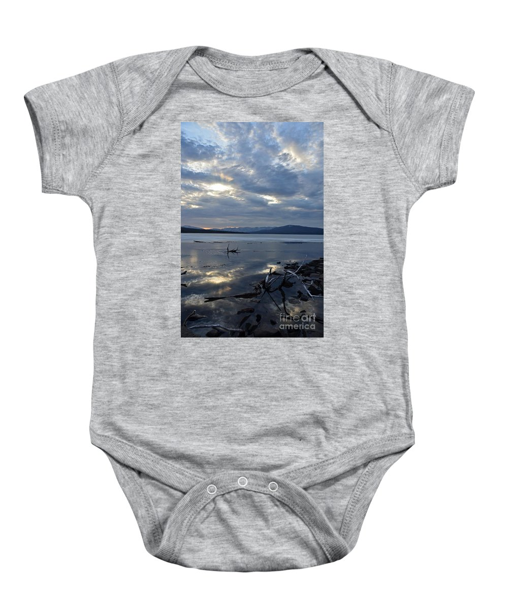 Water Baby Onesie featuring the photograph Ashokan Reservoir 17 by Cassie Marie Photography