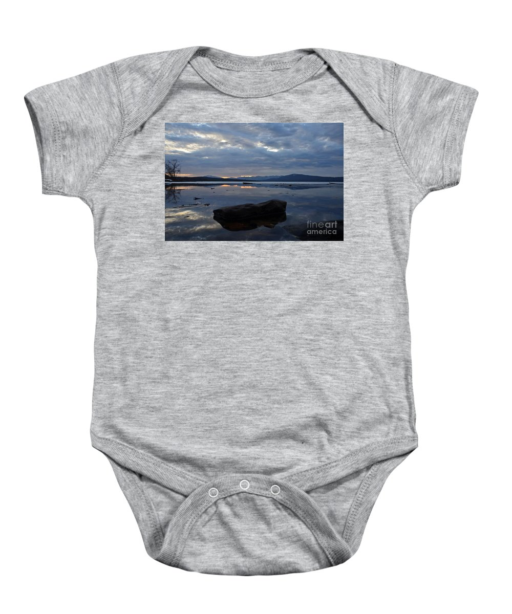 Water Baby Onesie featuring the photograph Ashokan Reservoir 25 by Cassie Marie Photography