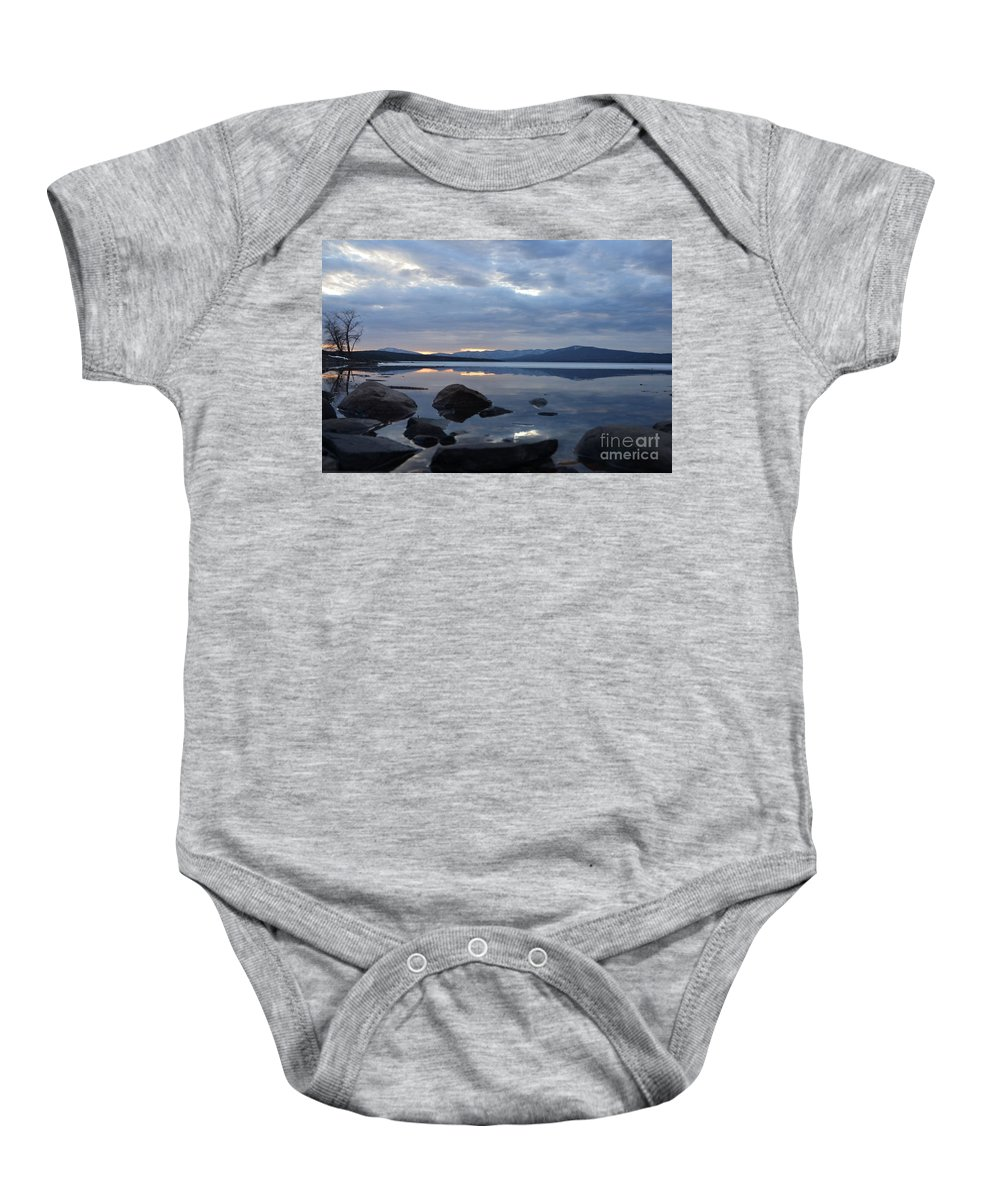 Water Baby Onesie featuring the photograph Ashokan Reservoir 26 by Cassie Marie Photography