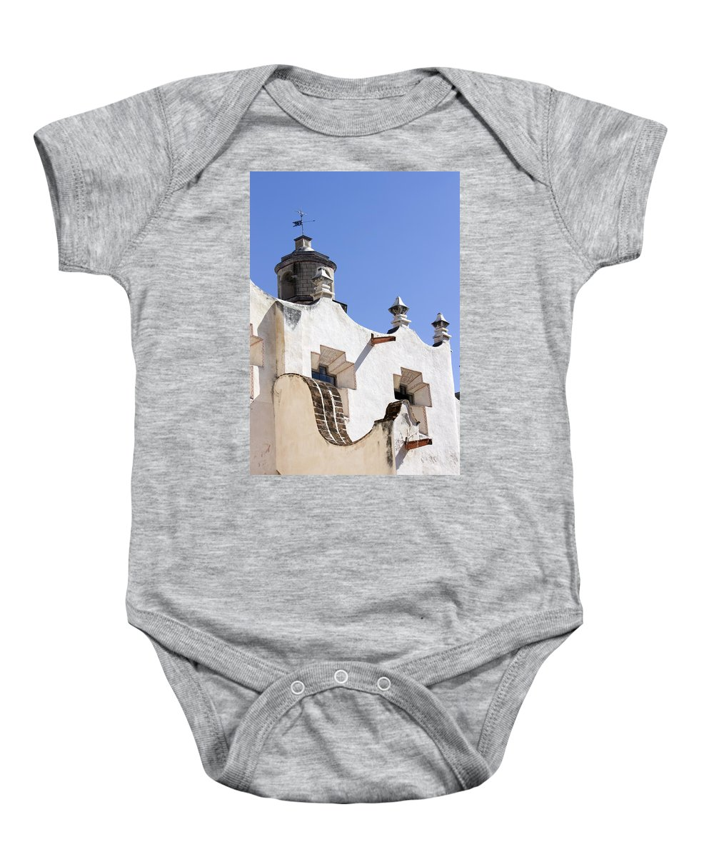 Sanctuary Atotonilco Baby Onesie featuring the photograph Atotonilco Hildago Mexico 2 by Cathy Anderson