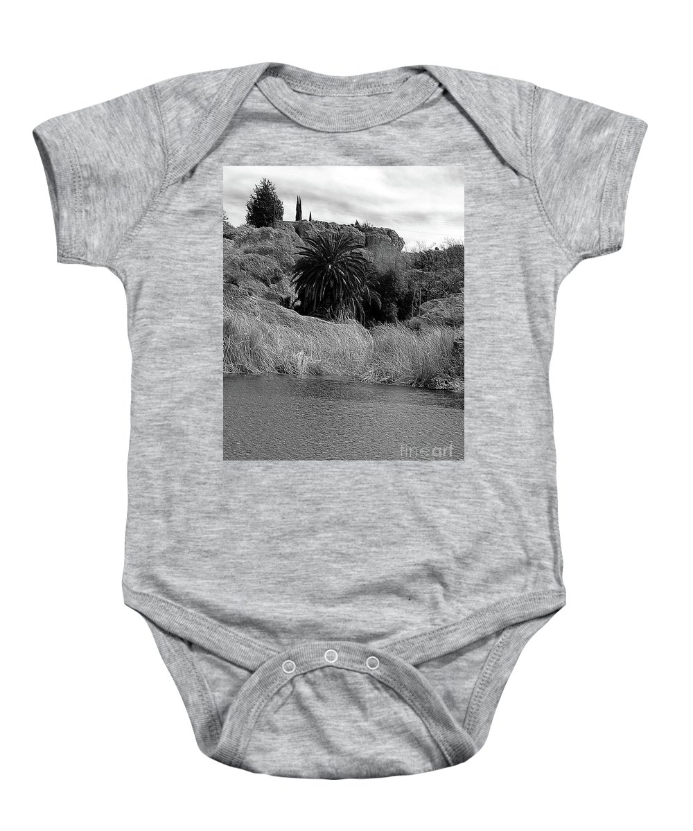 Ayer Baby Onesie featuring the photograph Ayer Lake 2 by Kathleen Struckle