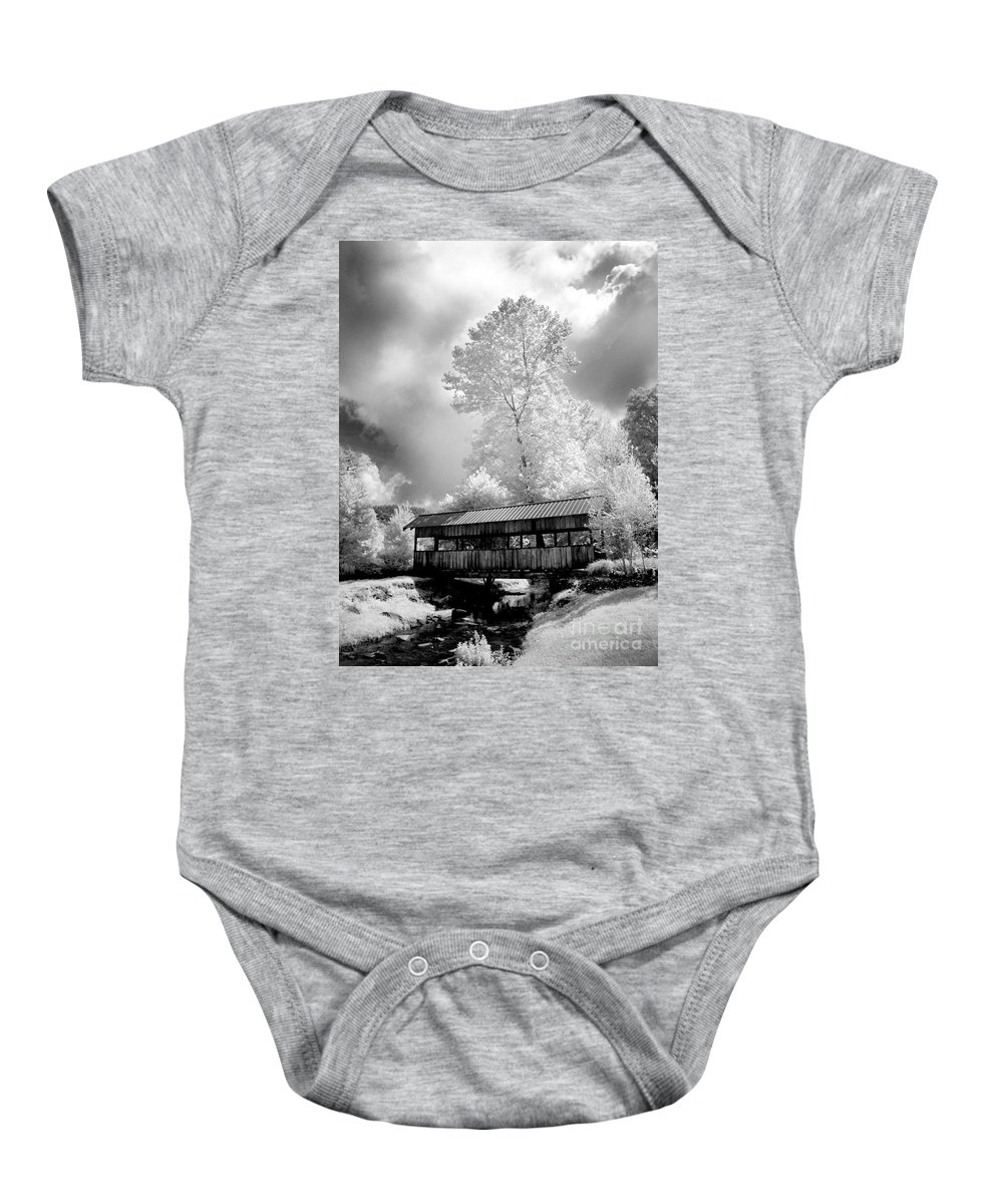 Infrared Baby Onesie featuring the photograph Bathed In Light by Paul W Faust - Impressions of Light