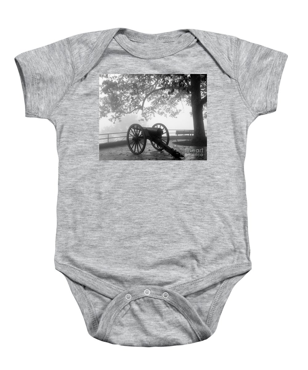 Civil War Baby Onesie featuring the photograph Battle Above The Clouds Revisited by Cheryl Hardt Art