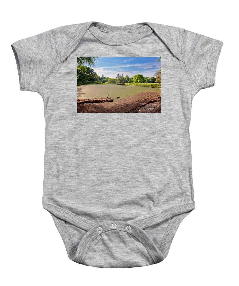 Duck Baby Onesie featuring the photograph Birds Eye View by Madeline Ellis
